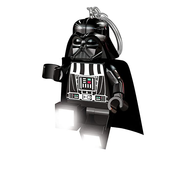 Amazon.com: Llavero con luz de Darth Vader de Lego Star Wars ...