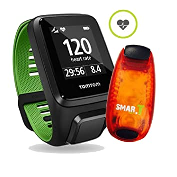 Pulso Reloj TomTom Runner 3 Small, incluye Smar.T Light Clip LED: Amazon.es: Electrónica