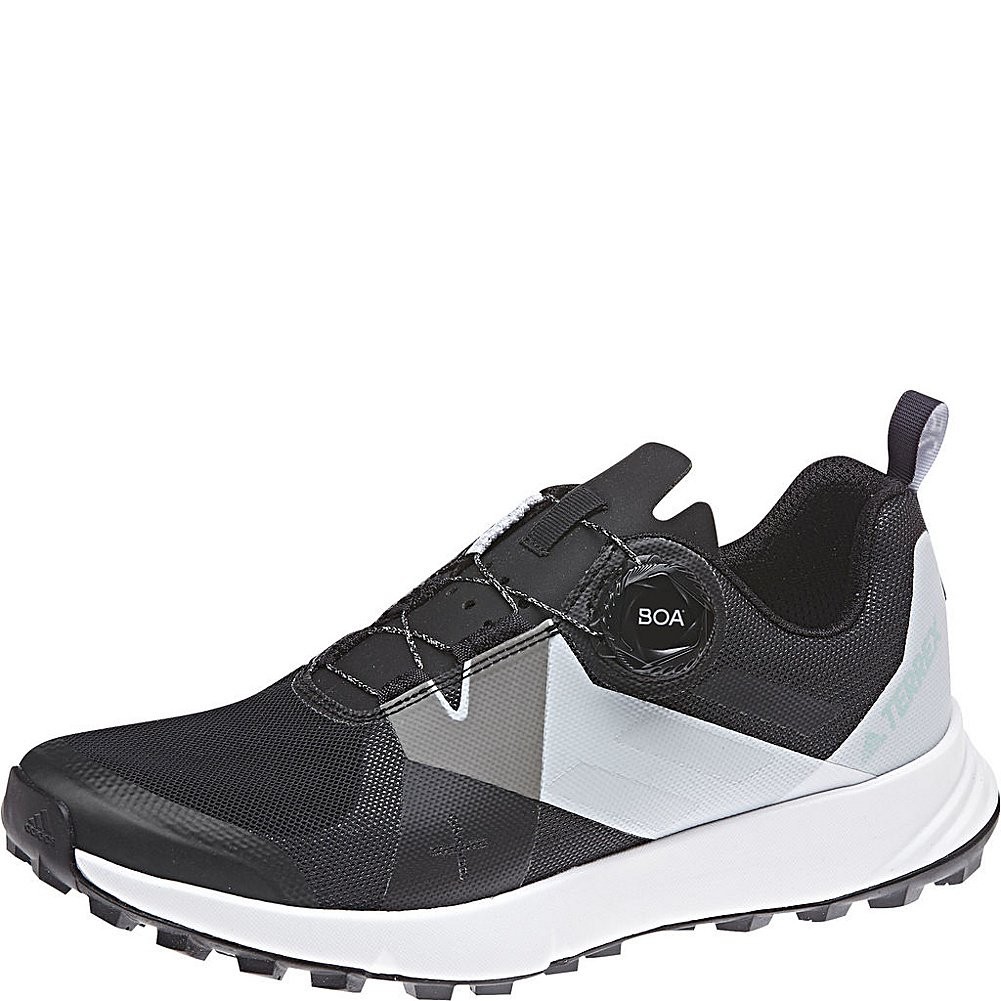 6d6b9f6de3 adidas outdoor Women's Terrex Two BOA¿ Black/Clear/White 8.5 B US