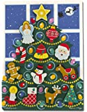 Melissa & Doug Holiday Christmas Tree Wooden Chunky Puzzle (13 pcs)