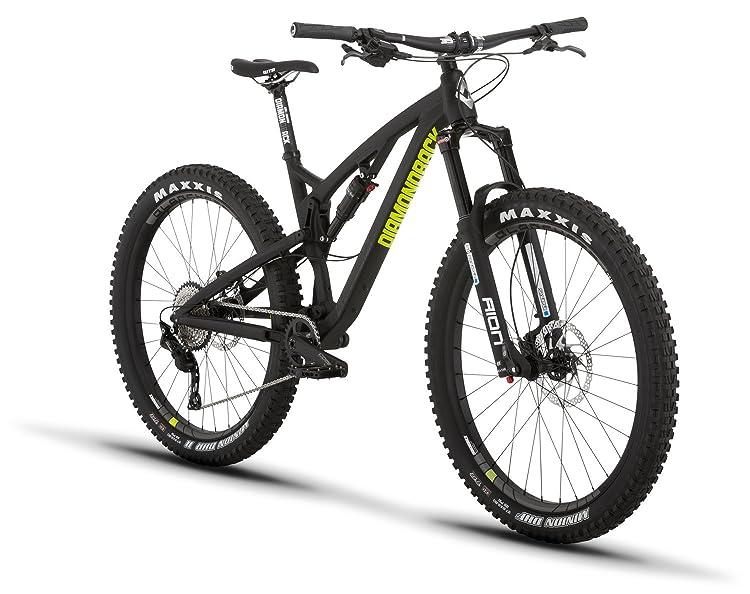 "iamondback Bicycles Catch 1 27.5+ Full Suspension Mountain Bike, Black, 15.5""/Small"