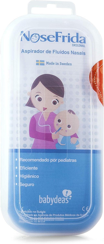 Nosefrida - Aspirador Nasal Para Bebés: Amazon.es: Salud y cuidado ...