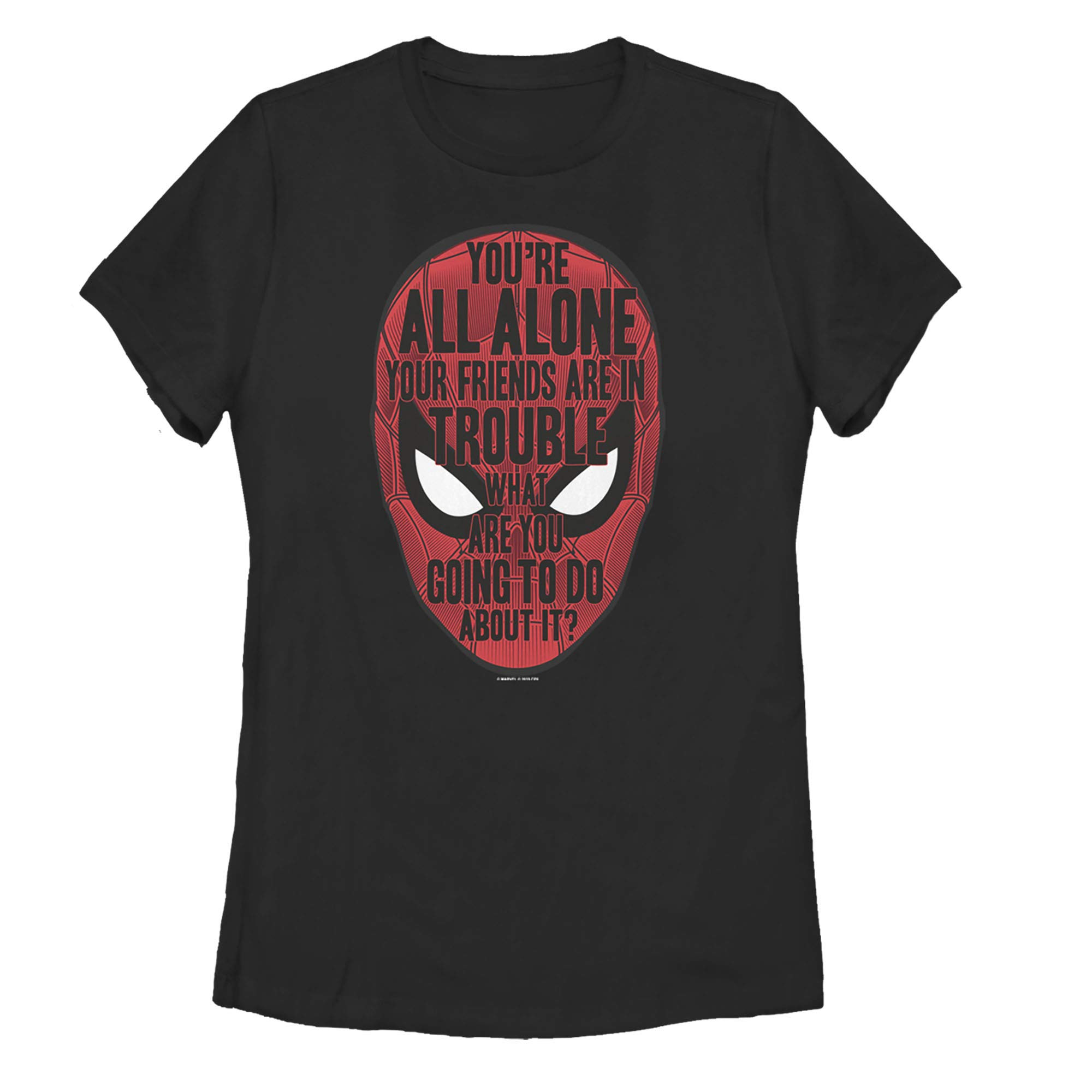 Spider Man Far From Home Alone Quote T Shirt 1289