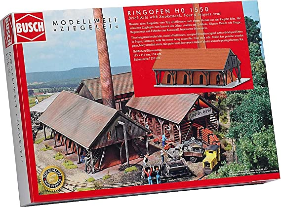 HS  Busch 1550 Ringofen Bausatz Ziegelei