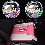 Rovtop Cinturón para Embarazada de Seguridad en el Coche que Protege al Bebé y la Mamá Evitando el Riesgo Cinturón de Seguridad Ajustable para Mujer Protector-Rosa