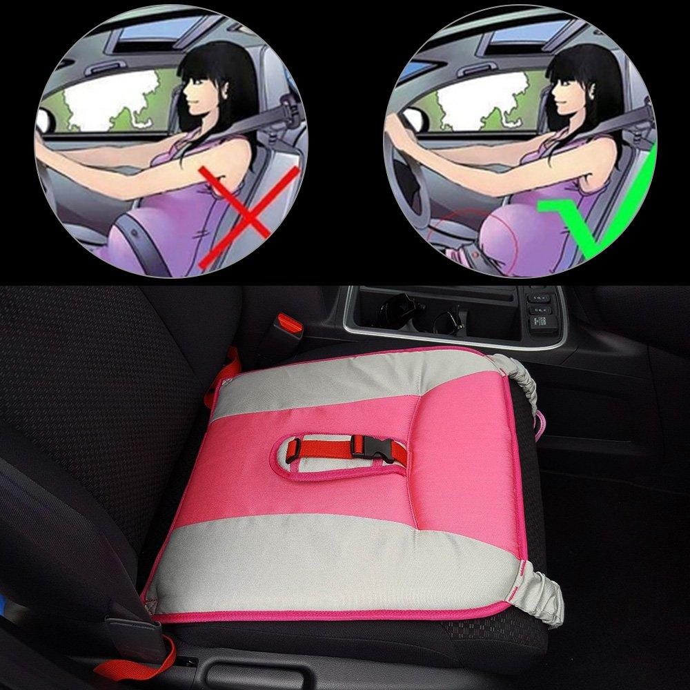 Rovtop Cinturón para Embarazada de Seguridad en el Coche que Protege al Bebé y la Mamá Evitando el Riesgo Cinturón de Seguridad Ajustable para Mujer Protector-Rosa product image