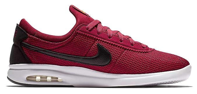 brand new 15f05 98764 Amazon.com   Nike Men s SB Air Max Bruin Vapor TXT (Red Crush Black-White,  10.5 D(M) US)   Fashion Sneakers
