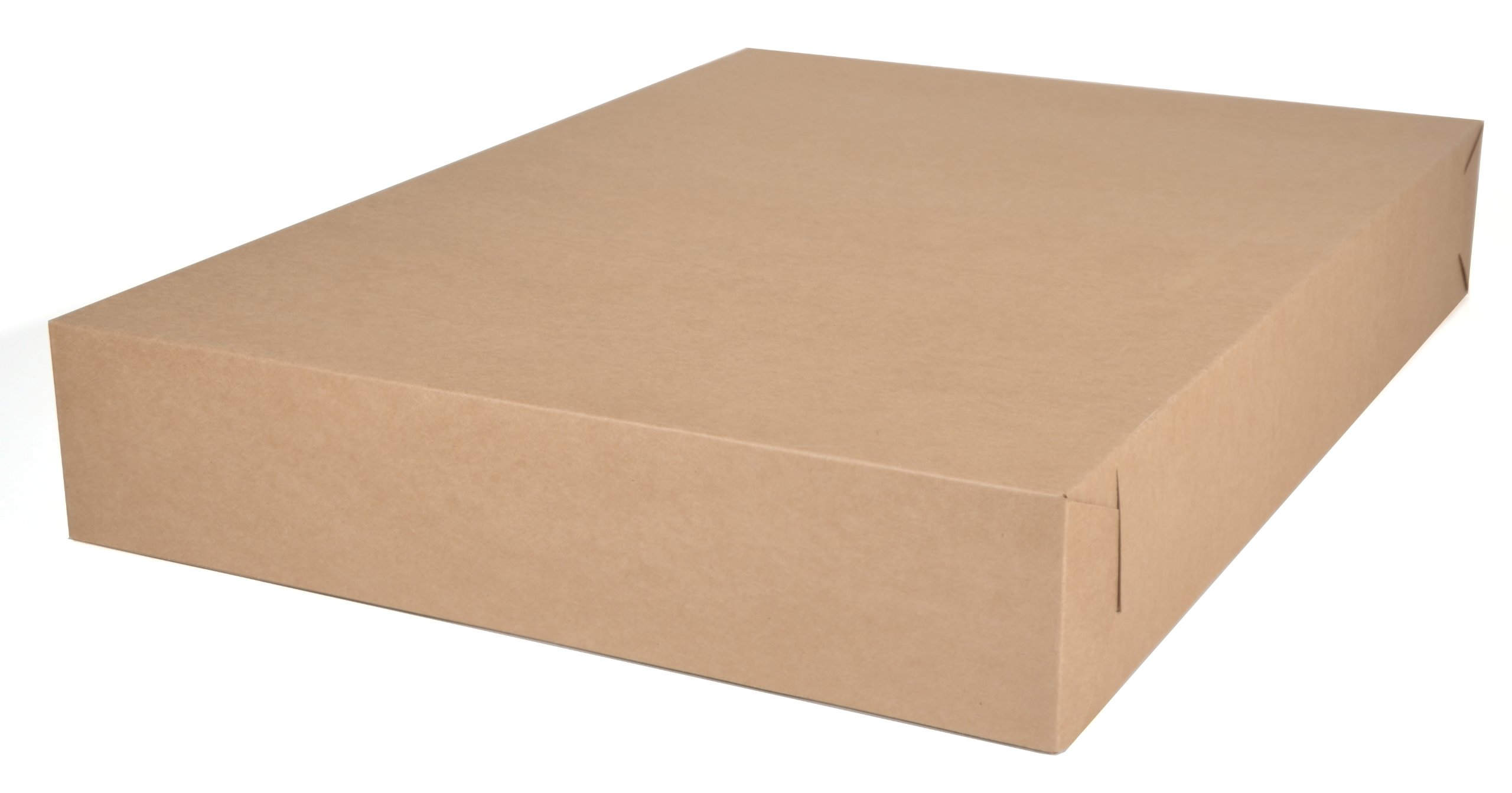 Southern Champion Tray 1095K Kraft Paperboard Non-Window Bakery Tray, 26 Length x 18-1/2 Width x 4 Height (Case of 50 Pieces)