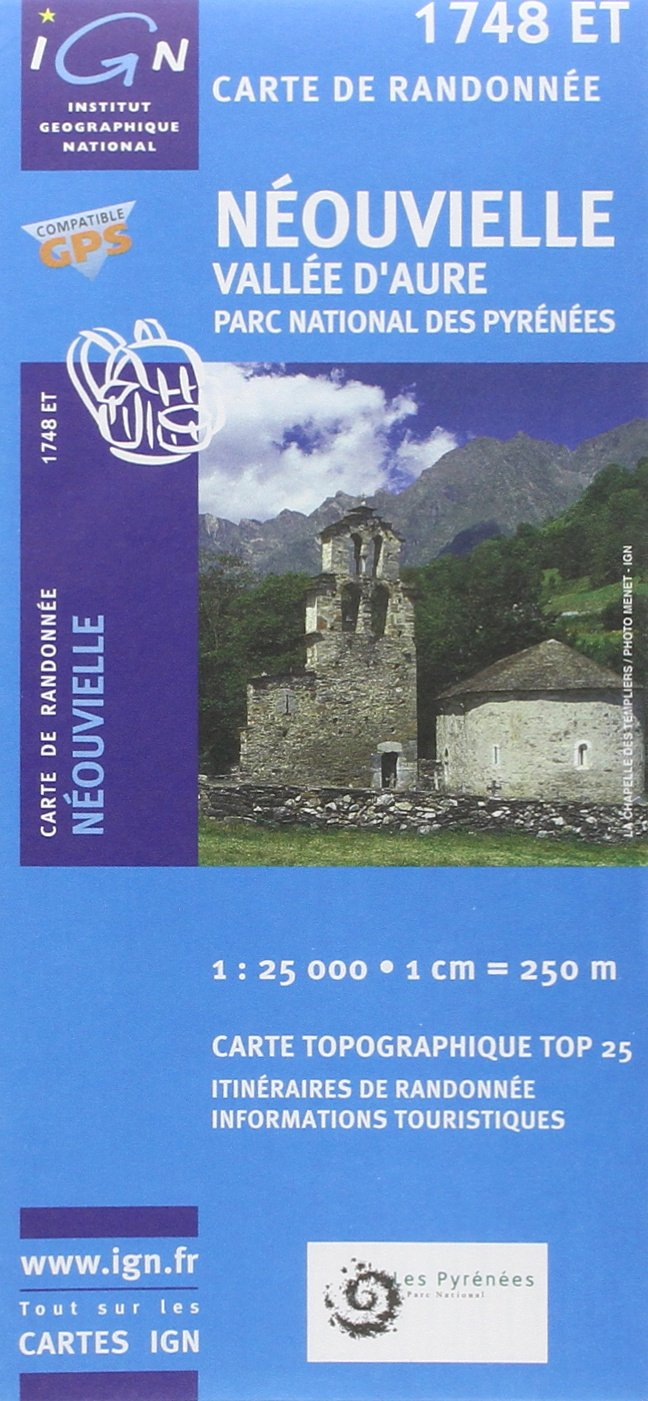 Neouvielle, Vallee d'Aure France 1:25,000 (French Edition) PDF