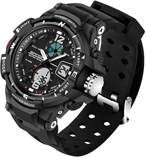 Digital Watches 2018 New Brand Smael Fashion Watch Men G Style 50m Professional Waterproof Sports Military Watches Shock Luxury Analog Digital