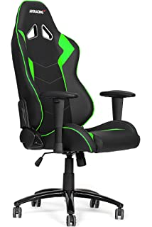 AKRACING AK-5050 Ergonomic Series Racing Gaming Office Executive Chair Black/Green Edition