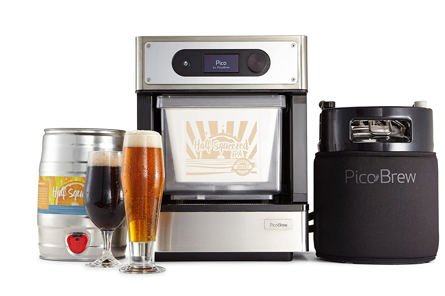 Amazon.com: PicoBrew Craft Beer Brewing Appliance (Discontinued by ...