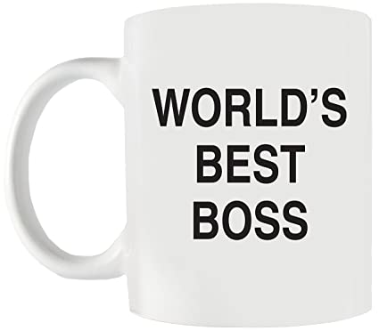 worlds best boss funny coffee mug the perfect office gift idea for boss dad