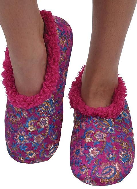 Amazon.com | Snoozies Womens So Soft! Fleece Lined Footies Womens ...