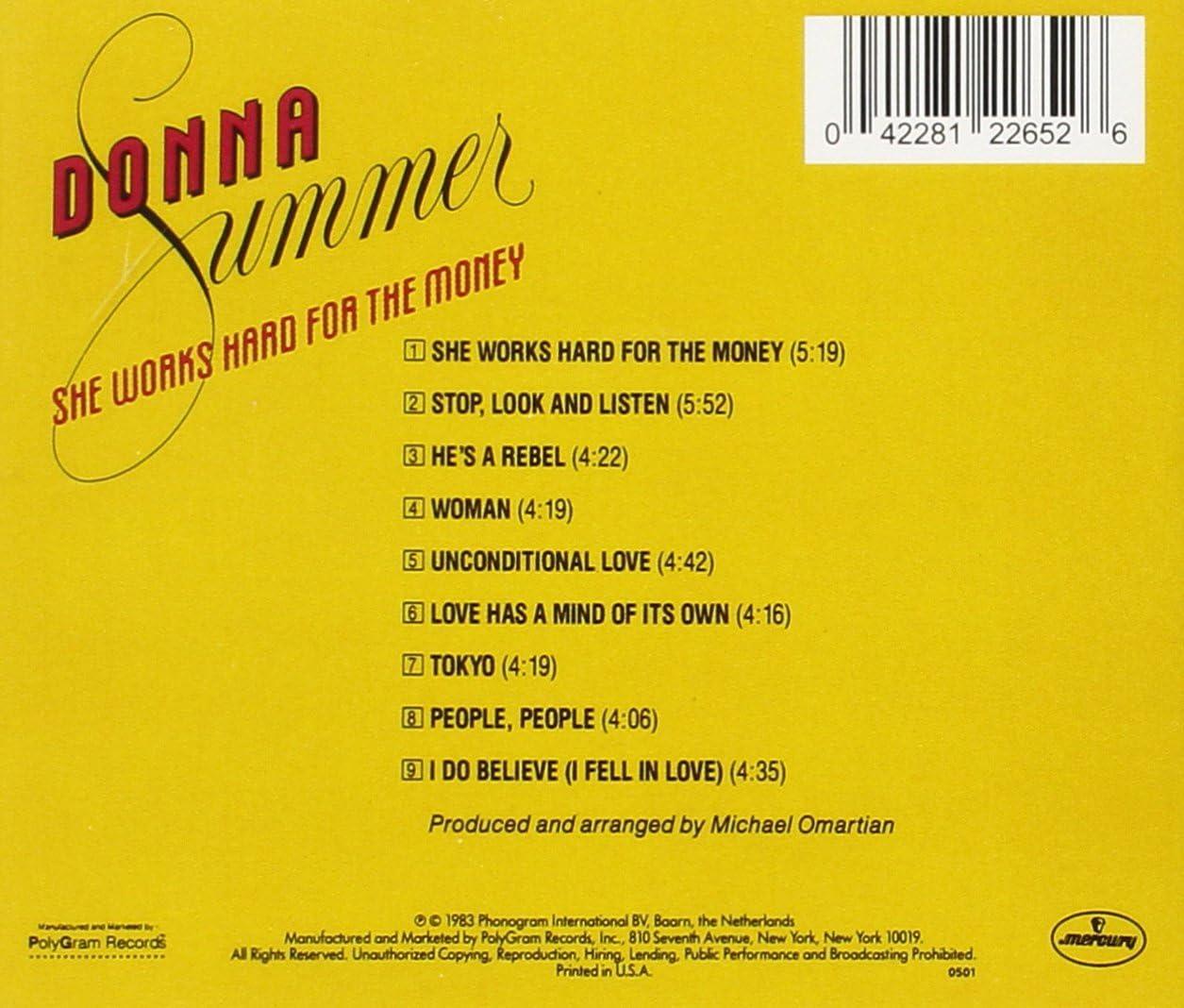 She Works Hard For The Money Donna Summer Matthew Ward Gary