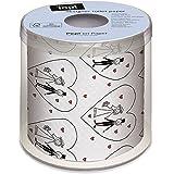 bedrucktes Toilettenpapier Hochzeit Box 10cm