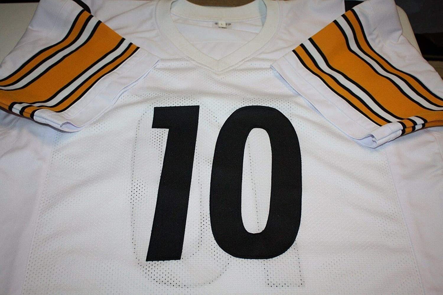 ba178814e Pittsburgh Steelers Kordell Stewart  10 Autographed Signed Away Jersey  Slash Memorabilia - JSA Authentic at Amazon s Sports Collectibles Store