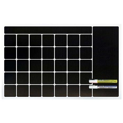 Amazon.com: Cohas - Pizarra magnética y calendario de ...