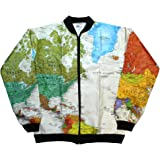 【Leslie Jordan】 TYVEK Jacket (World Map)