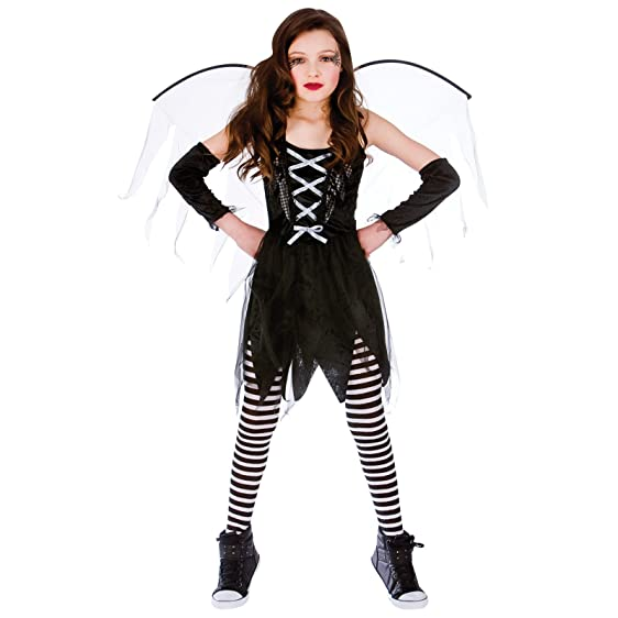 childrens scary fairy horror fancy dress up party halloween costume outfit new