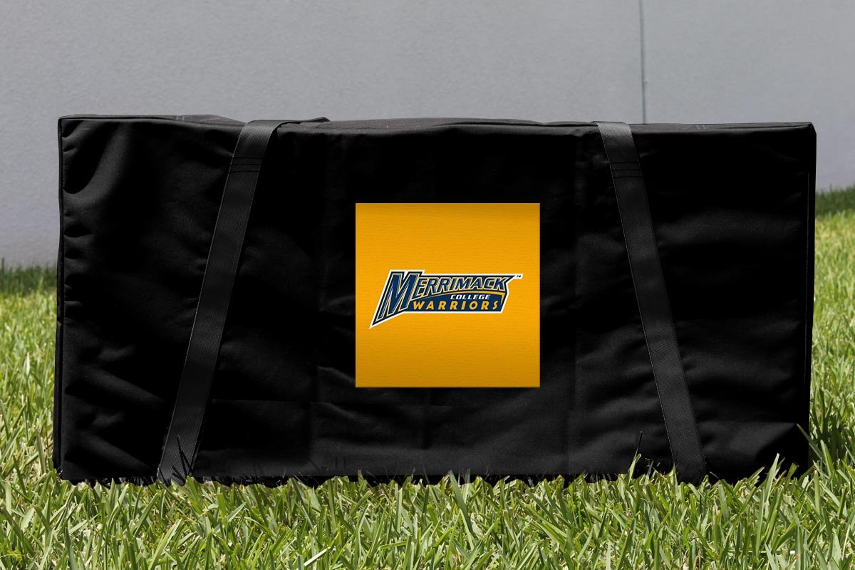 Merrimack College MC warriors Cornhole Carryingケース B00NFRWF3A