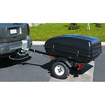 71QTGHVB3KL._SY355_ amazon com 78 inch tag along auto trailer with lockable shell Harley-Davidson Trailer Wiring Harness at webbmarketing.co