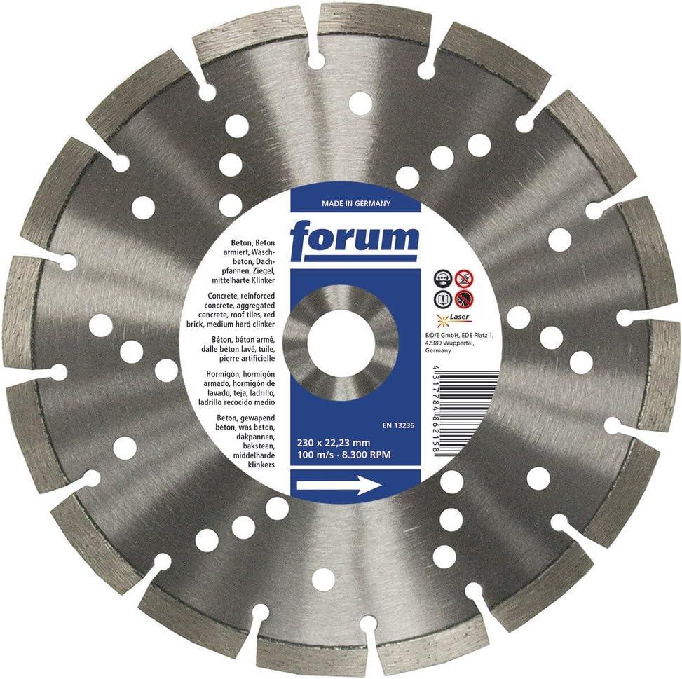 4317784891998 Forum diamit lasergeschei/ßt disque diamant 350 x 25,4 x 3,3 mm