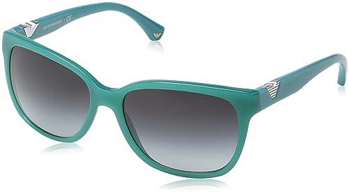 Emporio Armani Gafas de sol 4038 Opal Aqua Green 52758G, 57