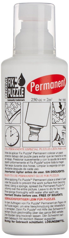 Educa Borrás 10622 - Pegamento para puzzle permanente: Amazon.es ...