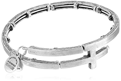 0a624a1bbe2b1 Alex and Ani The Mystical and The Magical Cross Metal Wrap Bracelet