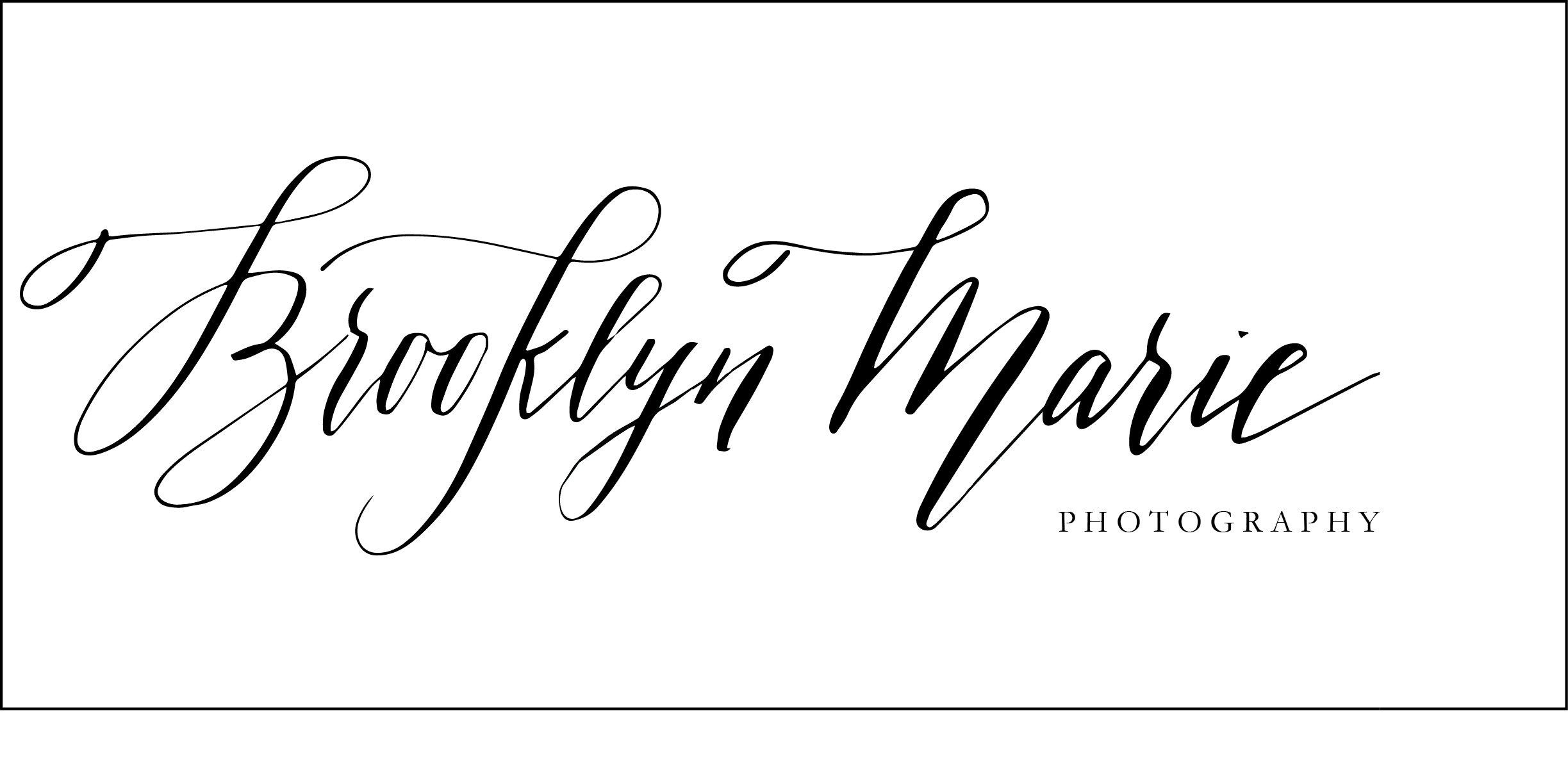 Custom Calligraphy Logo by Kelsey Malie Calligraphy