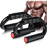 AIR-ONE SPORTS   Push Up Bars (Load up to 480 lbs), Extra Thick Unti-Slip Foam Handles, Perfect Push up Handles for Floor, Ho