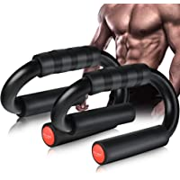 AIR-ONE SPORTS   Push Up Bars (Large Size, 480 lbs), Extra Thick Foam Grip and Non-Slip Bars, Perfect Push up Handles…