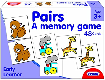 Buy Frank Pairs Memory Game, Multi Color Online at Low Prices in ...