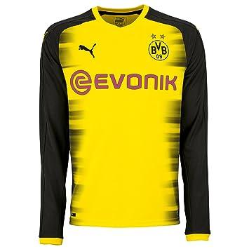 Puma BVB Borussia Dortmund Herren Promo Langarm