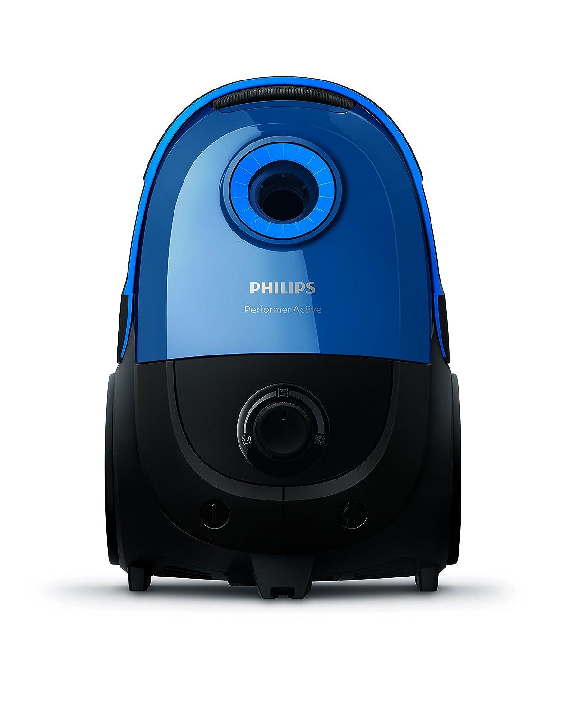 Philips FC8575//09 Aspirateur avec sac Performer Active Capacit/é de Poussi/ère 4L Bleu Suceur Plat Int/égr/é 650W