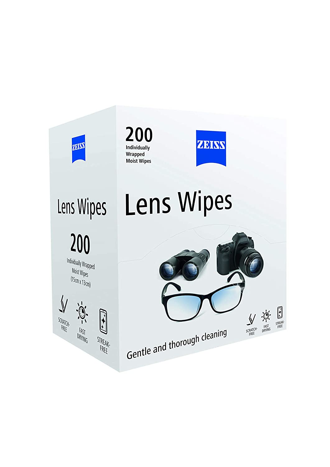 df58024e40 ZEISS Lens Wipes - Pack of 200  Amazon.co.uk  Health   Personal Care