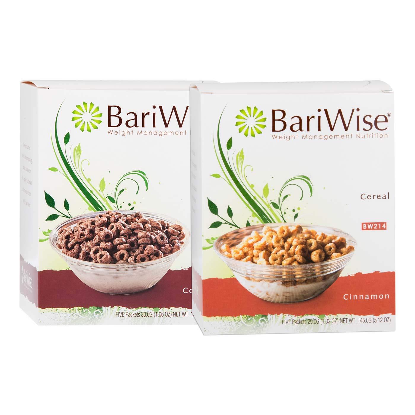 BariWise Protein Cereal Bundle, Sugar Free Coco & Cinnamon