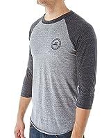 O'Neill Mens Posted Raglan Long-Sleeve Shirt