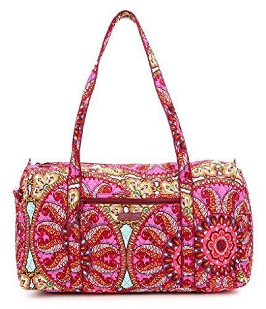 Vera Bradley Large Duffel Bag (Resort Medallion)