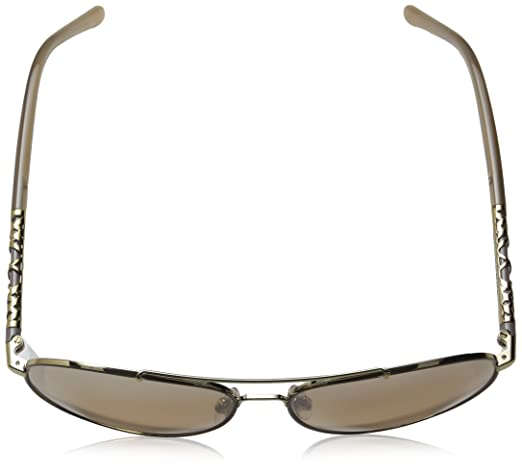 5a83106a972 Burberry BE3089 114513 Light Gold BE3089 Pilot Sunglasses Lens Category 3  Size at Amazon Women s Clothing store