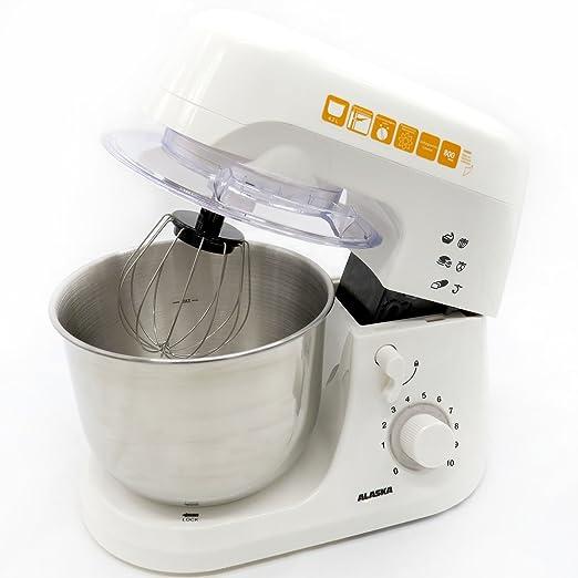 Alaska Robot de cocina SM 800 | Blanco | - Amasadora, 800 W ...