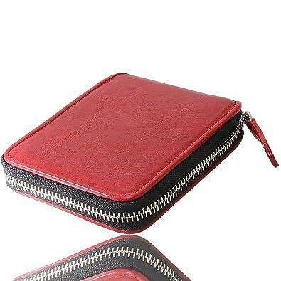 682af7da930d 二つ折り財布 ラウンドファスナー レザーウォレット イタリアンレザー 革財布 本革 レザー ラウンドジッパー