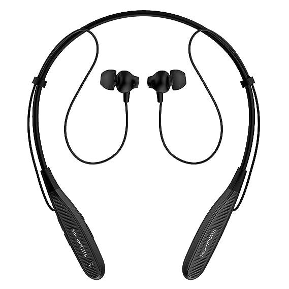e92064bea0d SoundPEATS Q25 Bluetooth Headphones Wireless Stereo Earbuds Sweatproof  Running Sports Earphones with Mic (7 Hours Working ...
