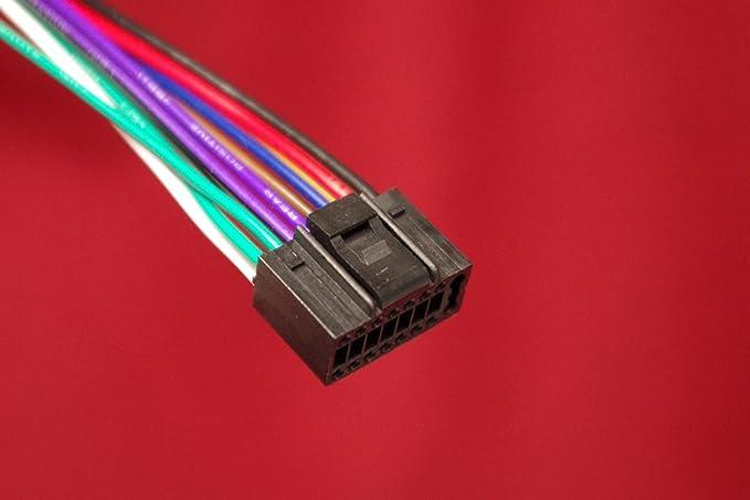 WIRE HARNESS FOR JVC MODELS KD-NX5000, KD- X310BT, KD-R80BT, KD-R810, on