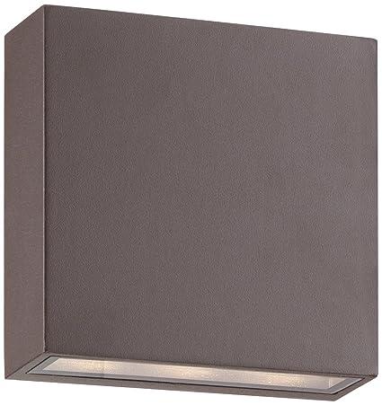 Possini euro stanford bronze modern outdoor led wall light wall possini euro stanford bronze modern outdoor led wall light aloadofball Choice Image