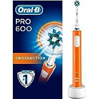 Oral-B PRO 600 CrossAction - Cepillo de Dientes Eléctrico con Tecnología de Braun