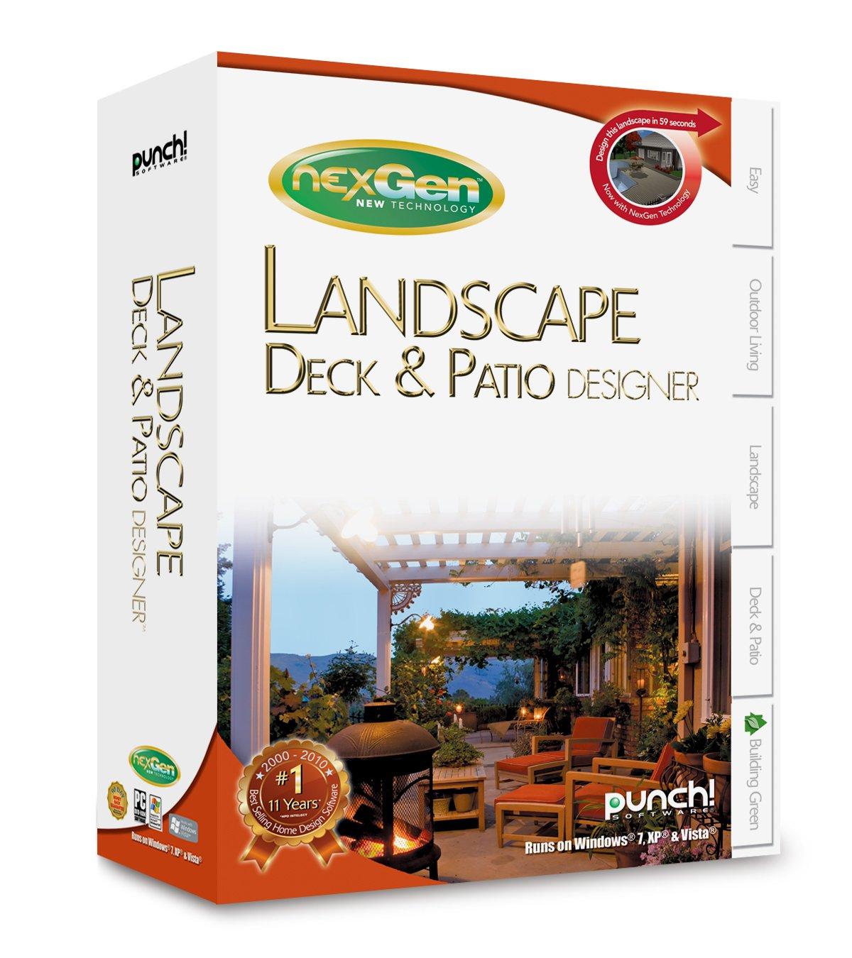 Punch! Landscape, Deck & Patio NexGen: Pc: Software - Amazon.ca