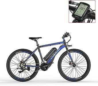 LANKELEISI RS600 700C Asistente de Pedal Ebike, batería 36V 20Ah, Motor 400W, Marco de aleación de Aluminio, Distancia hasta 70km, Bicicleta de Carretera, Pedelec.: Amazon.es: Deportes y aire libre