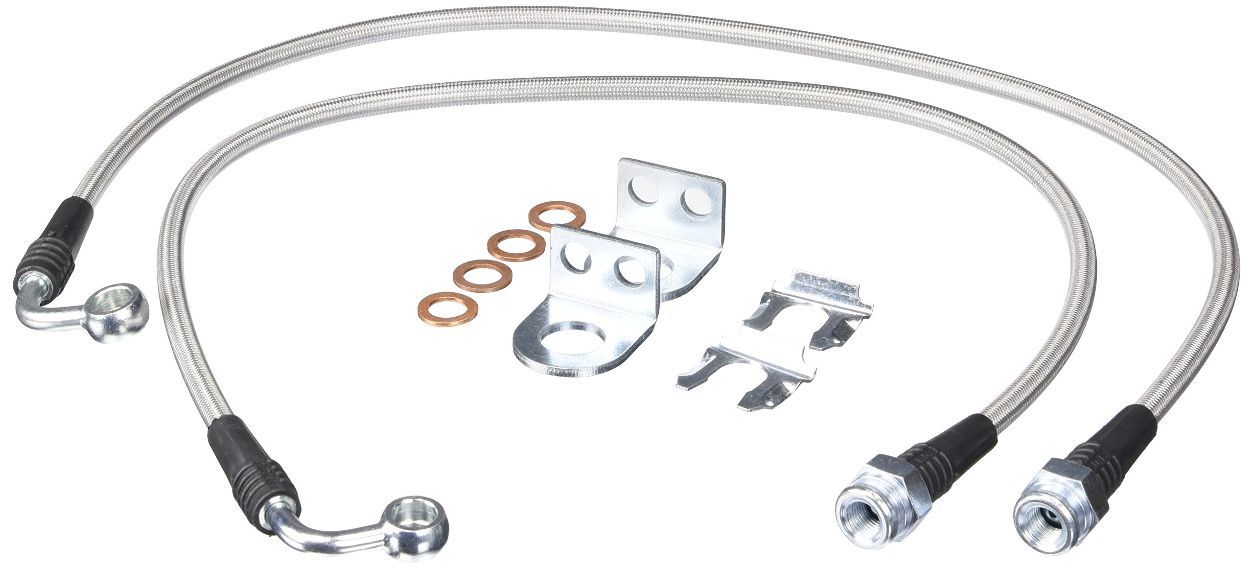 TeraFlex 4353310 26'' Front Brake Line Kit with Hardware
